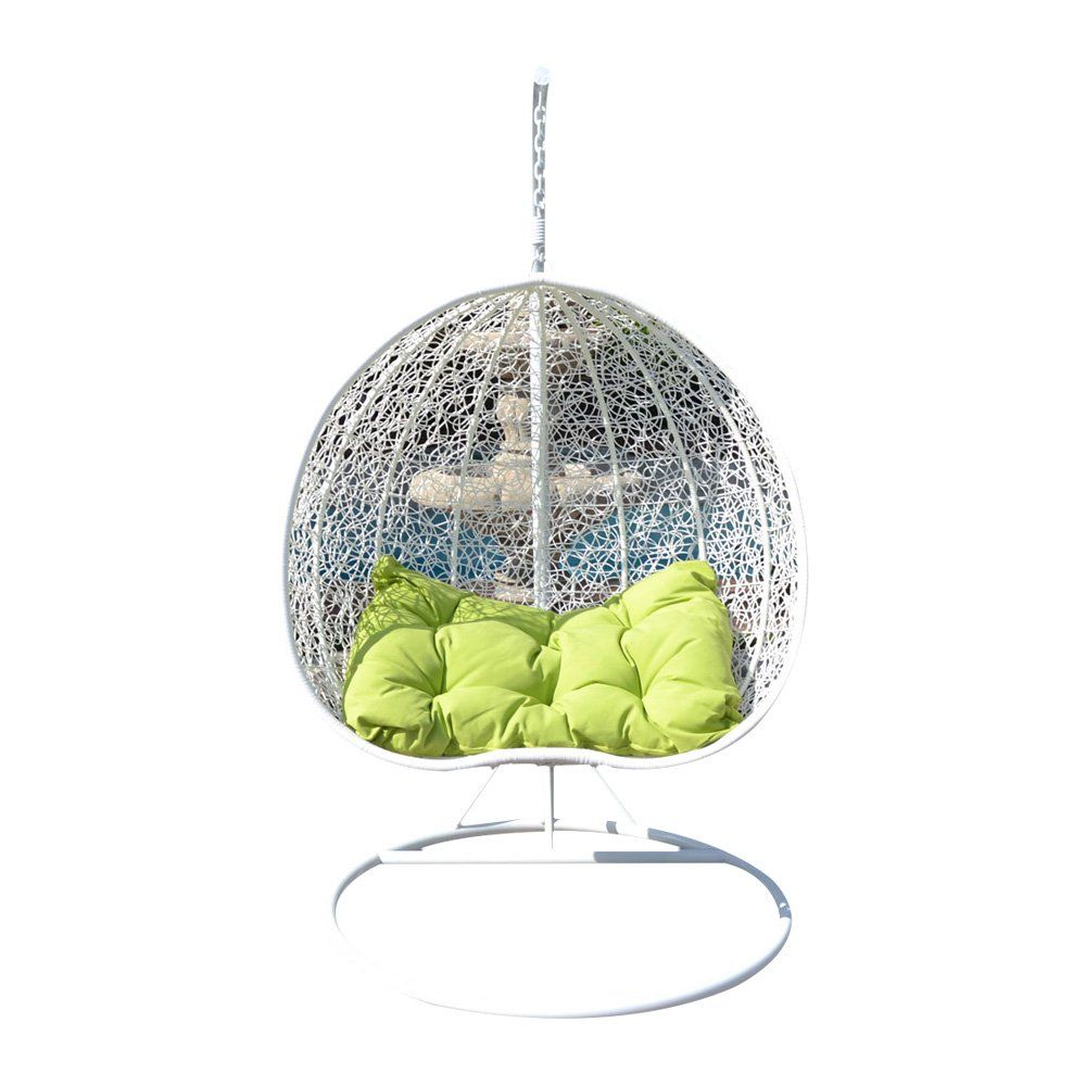 Egg nest shaped wicker rattan swing chair hanging hammock persons