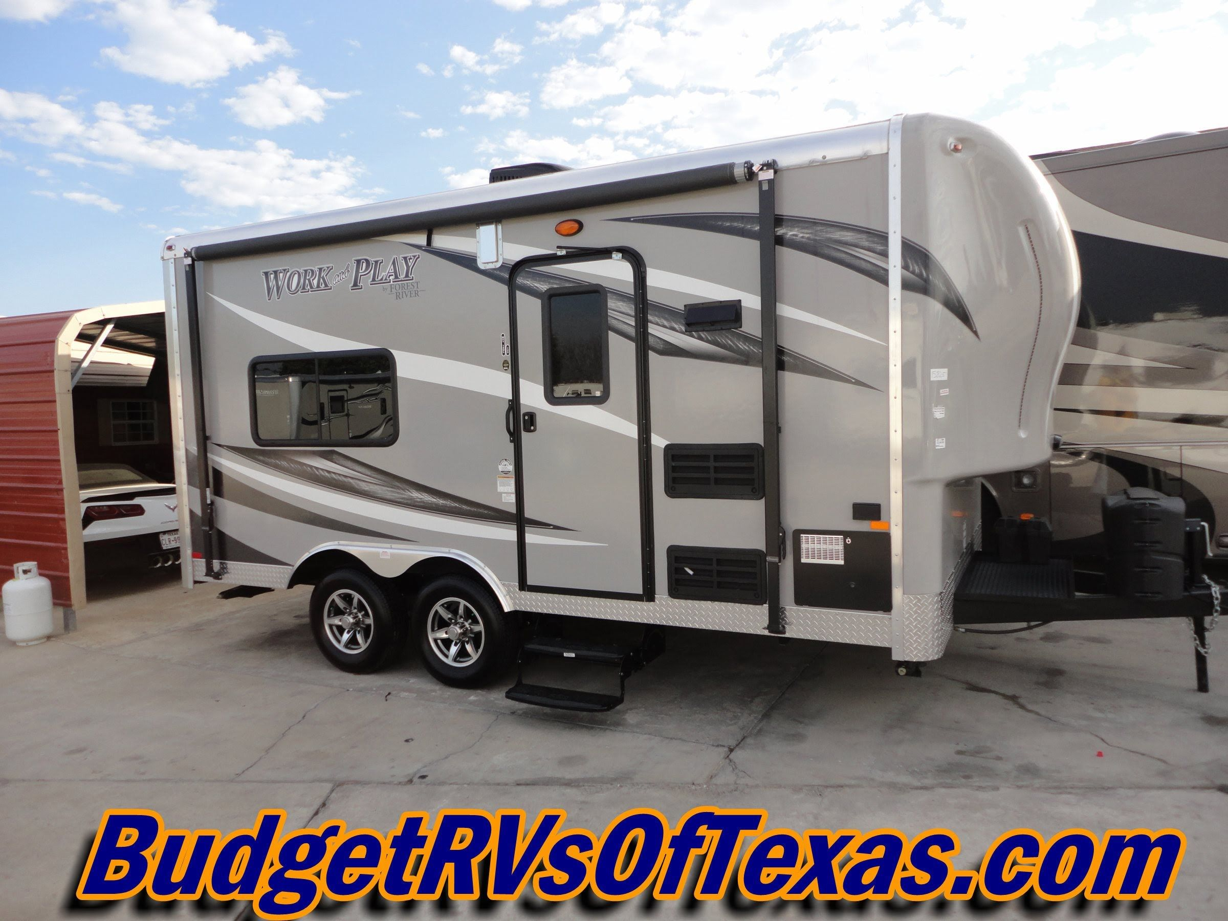 Half Ton Towable Fifth Wheels >> Half Ton Tow 15ft Self Contained Work And Play Toy Hauler