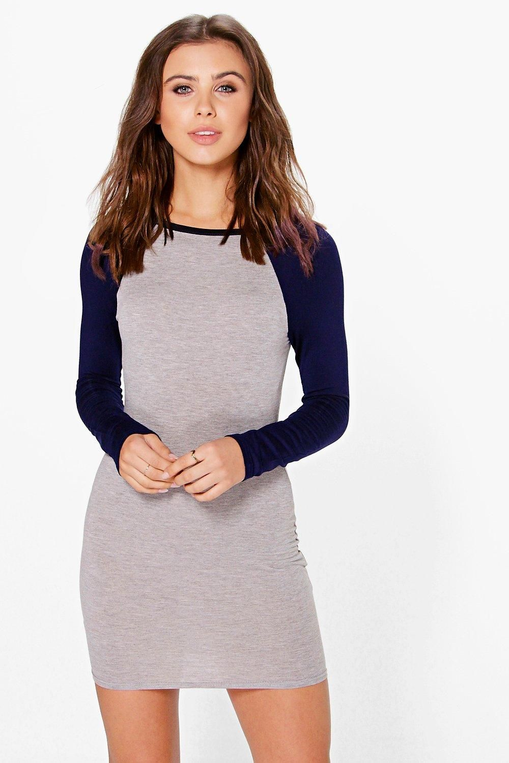 c95b66834118 Petite Darcy Raglan Sleeve Bodycon Dress | dresses | Pinterest ...