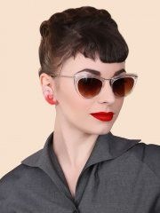 Anita Sunglasses - Clear - Viven of Holloway ~M x