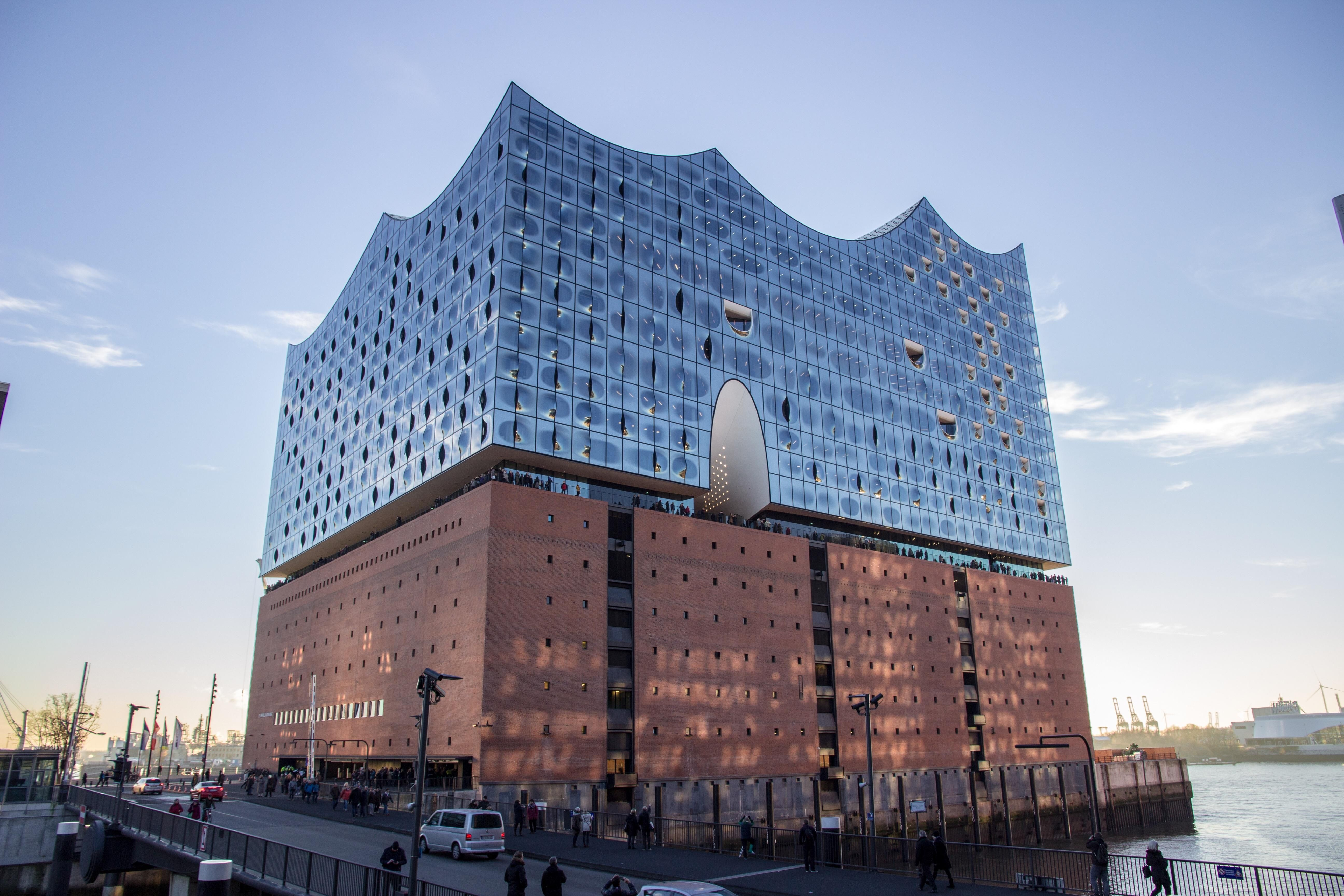 Elbphilharmonie Hamburg Germany Building Architecture Building Landmarks