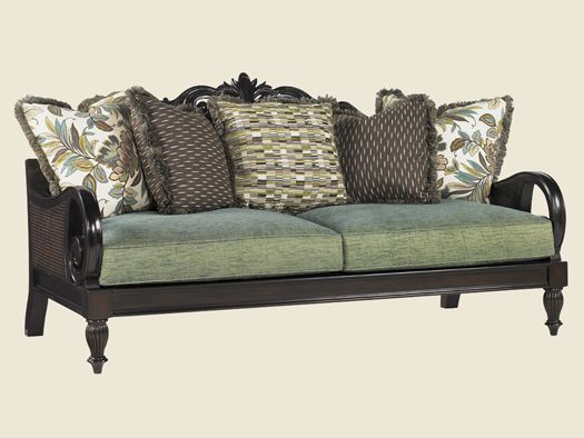 Royal Kahala Turtle Bay Sofa Lexington Home Brands Furniture Tommy Bahama Furniture British Colonial Decor