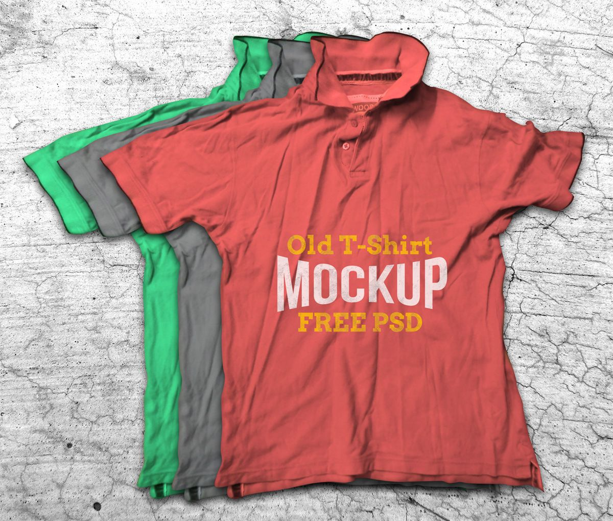 Download Old Crumpled T Shirt Mockup Fribly Shirt Mockup Tshirt Mockup Mockup