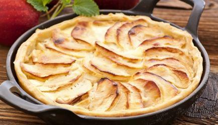 appeltaart abrikozenjam recept