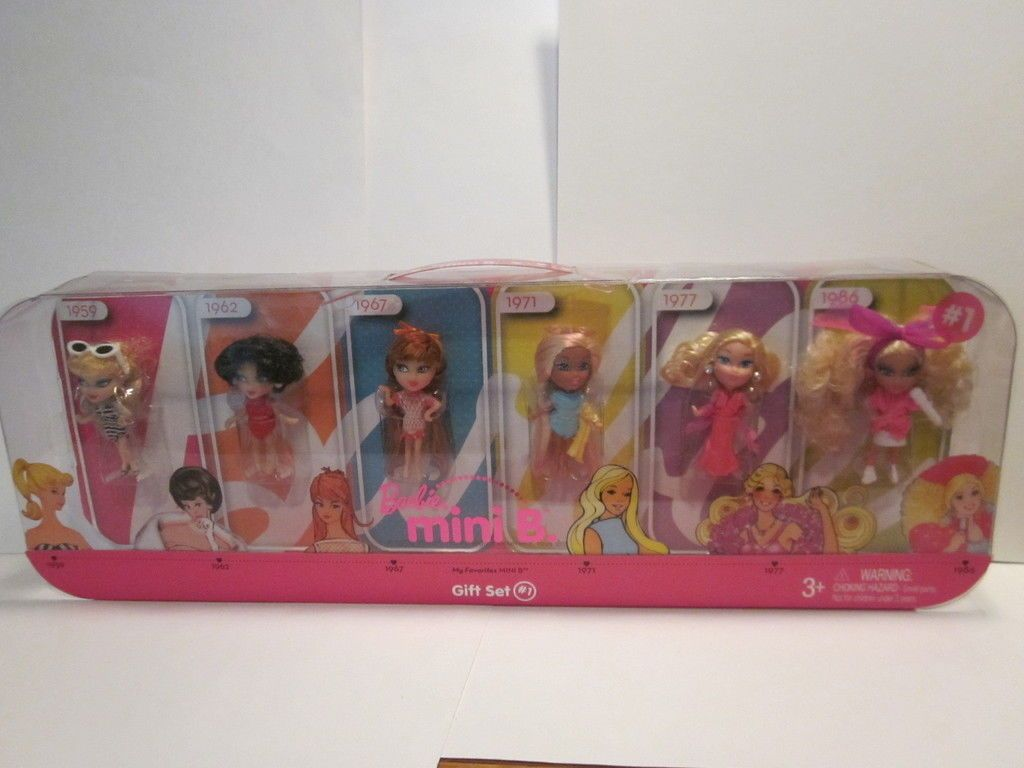 Mattel Barbie Mini B Giftset 1 Ebay These Are The Same Size As