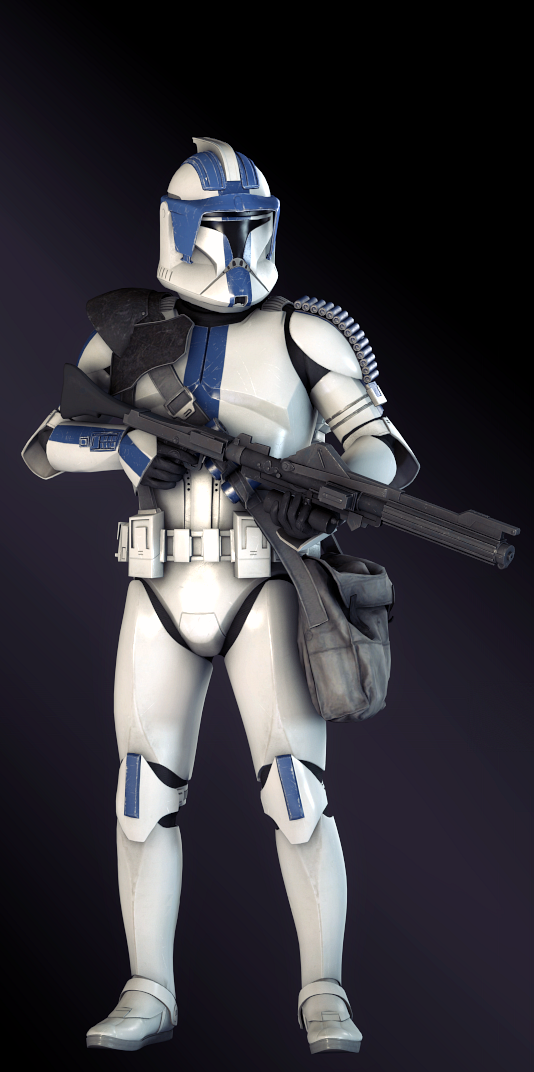 501st Heavy Star Wars Battlefront Ii By Succulentsoldier Star Wars Awesome Star Wars Trooper Star Wars Clone Wars