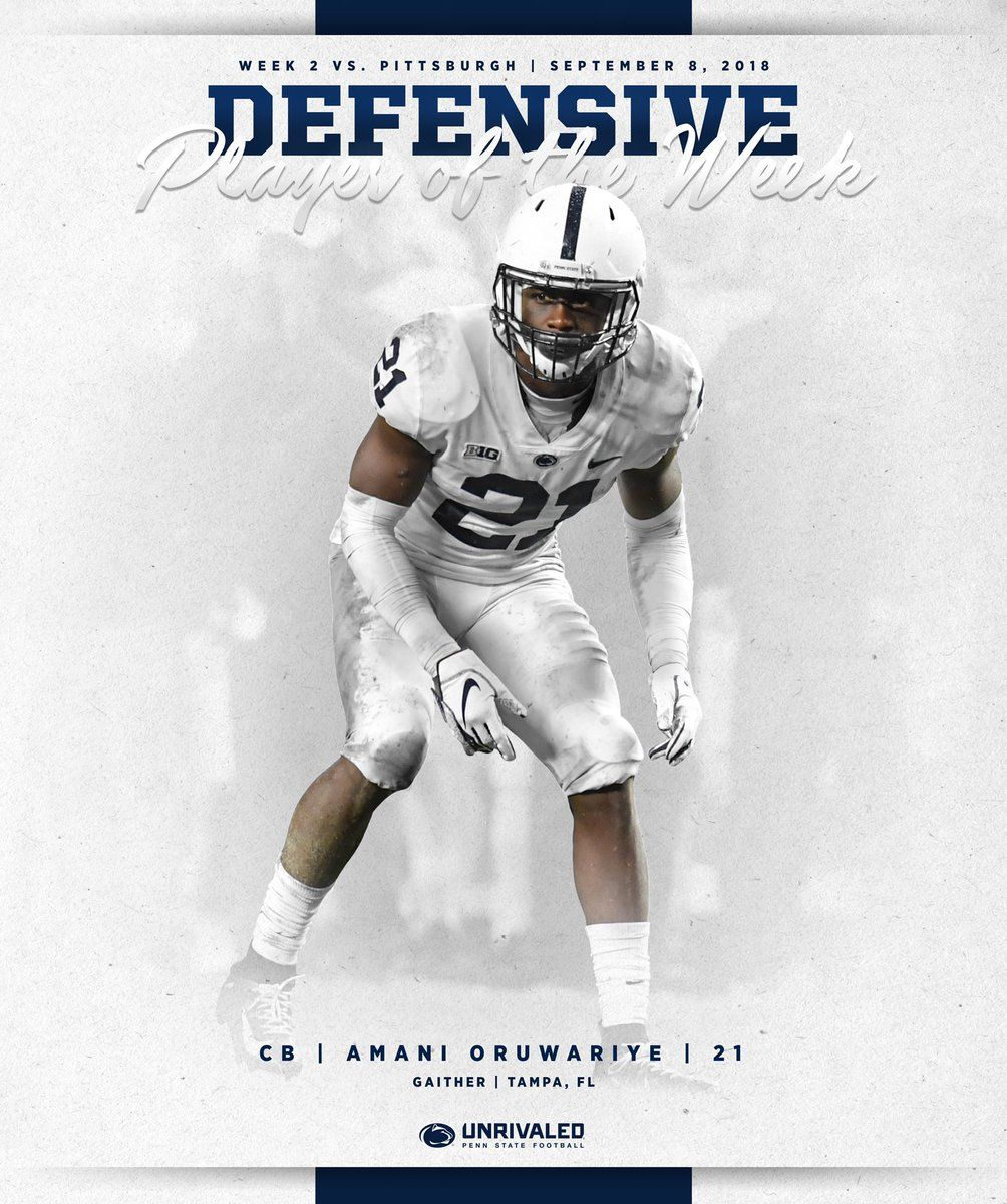 Penn State College Football Graphics Sports graphics
