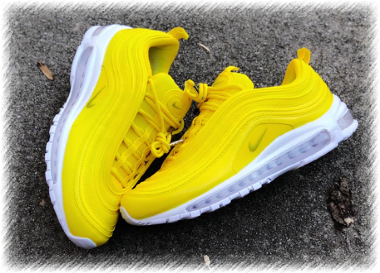 Sunshine Yellow Nike Air Max 97 Custom