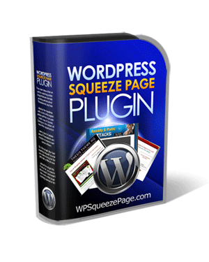 Wordpress Squeeze Page Plugin