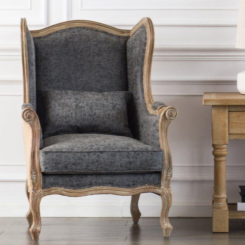 Addington wingback chair chair accent chairs