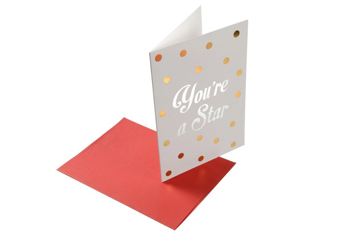 Dazzle You Re A Star Greeting Card Cards Greeting Cards Cute Cards
