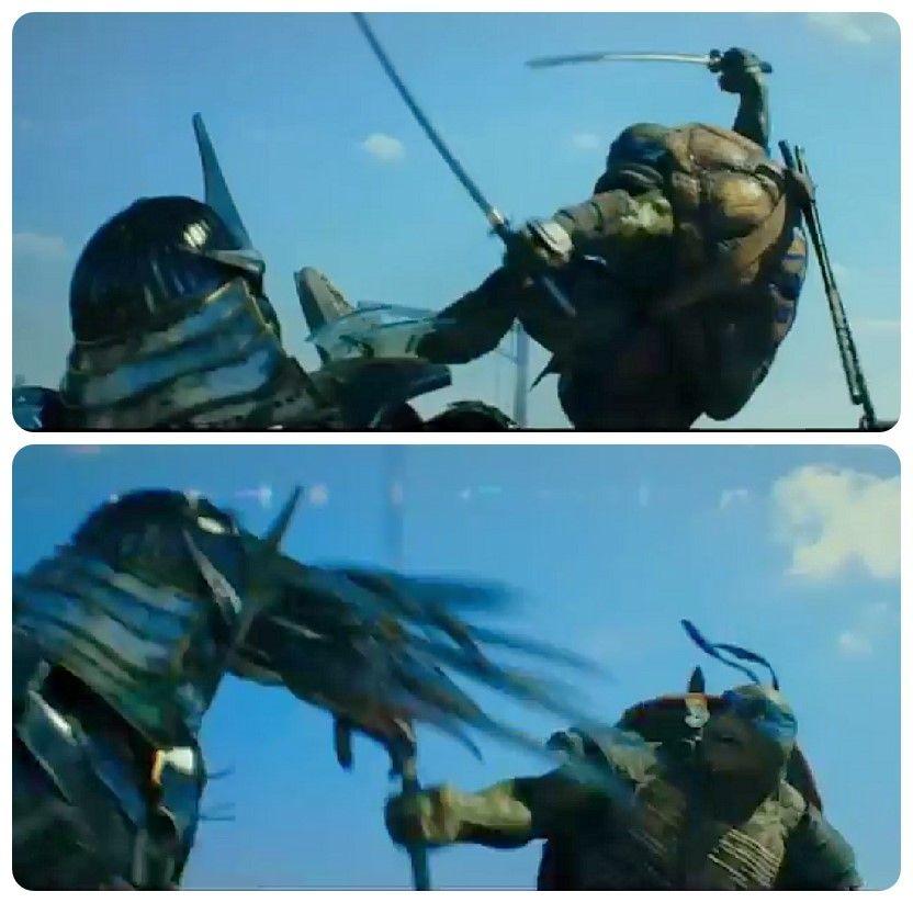 Leo vs Shredder by Sleepingseeker | TMNT 2012/2017 ...