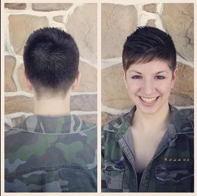Military Haircuts For Females 7