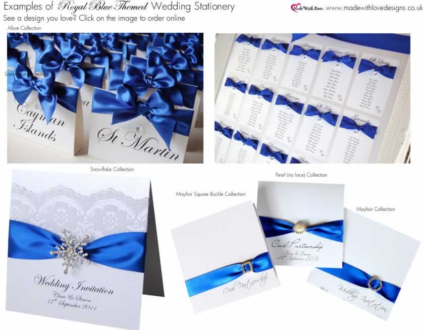Wedding Invitations Royal Blue And Silver: Royal Blue Wedding Centerpieces