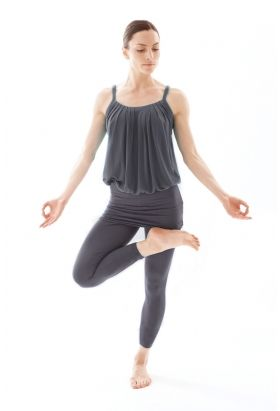 Bamboo Foldover Leggings In Black Yoga And Pilates Clothes From