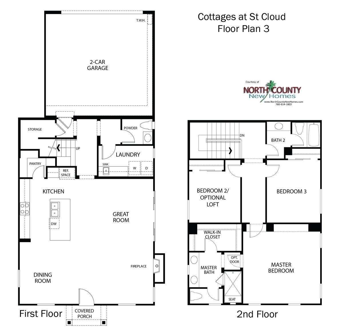 Cottages At St Cloud Floor Plans