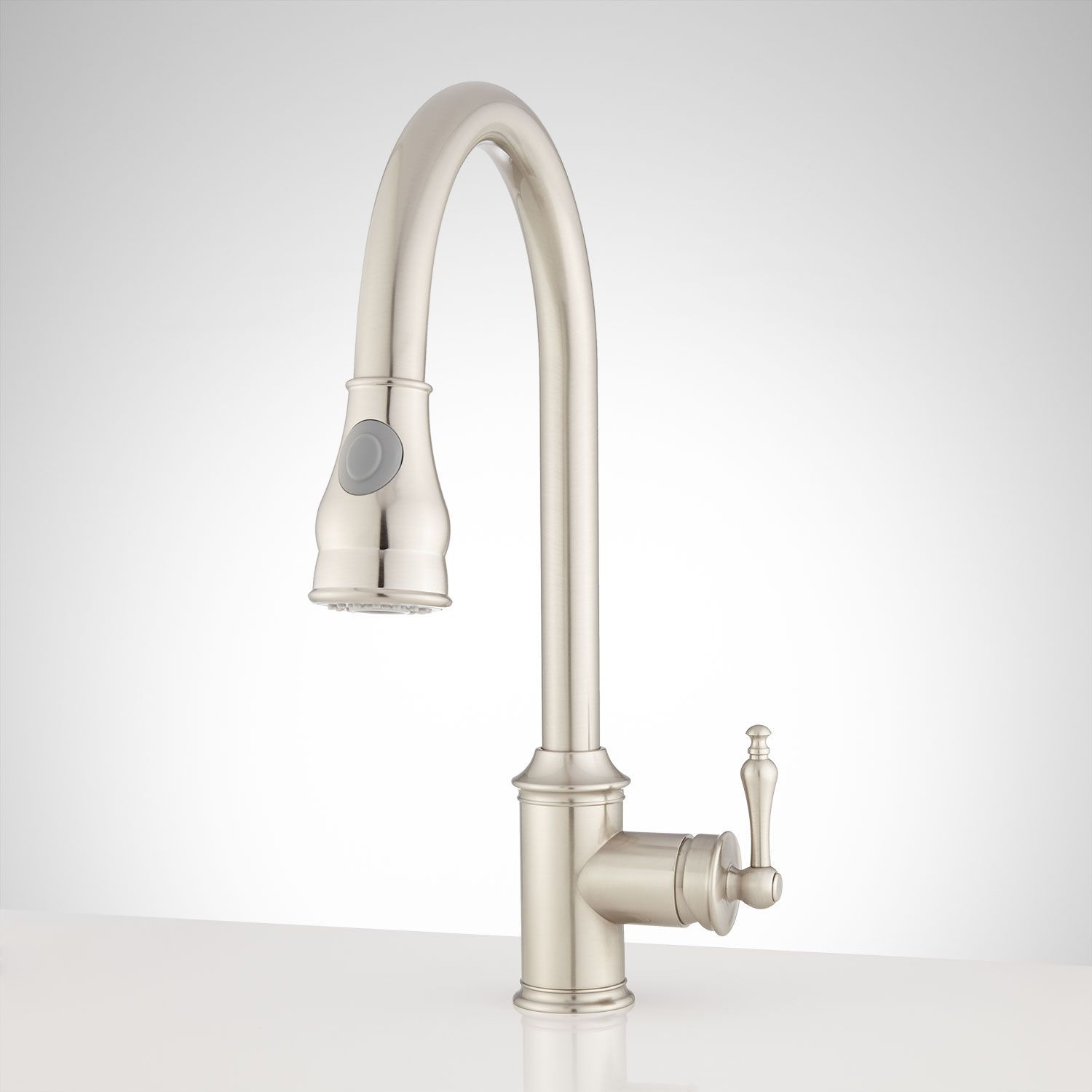 Trego Single-Hole Pull-Down Kitchen Faucet | Kitchen faucets, Faucet ...