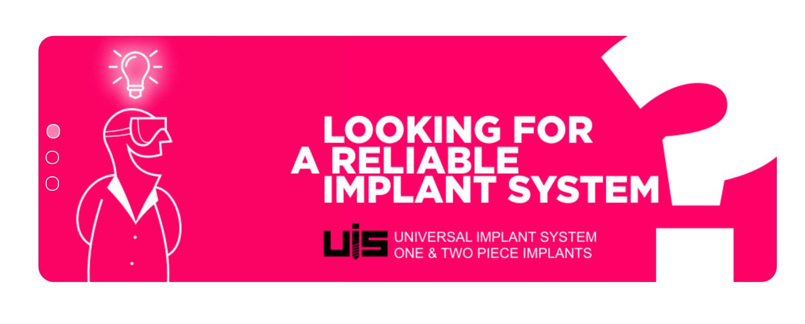 Universal Implant System | UIS IMPLADENTA