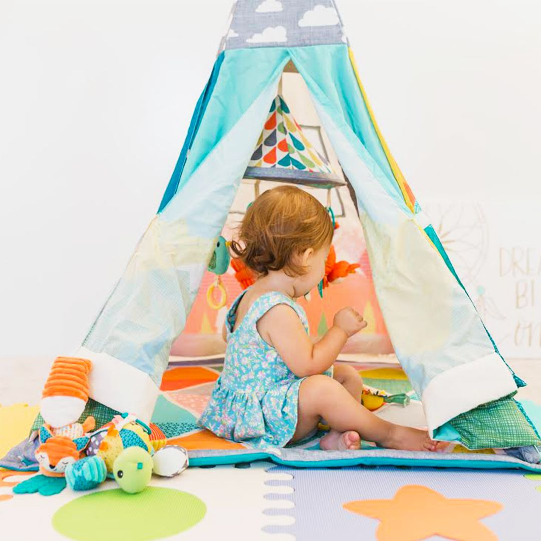 separation shoes 92c76 3cea3 Infant to Toddler Play Gym & Fun Teepee™ | Baby Gyms and ...