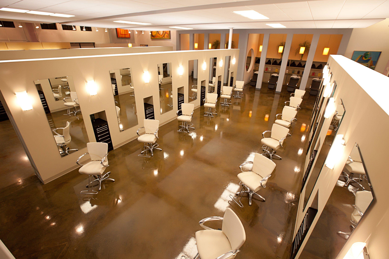 beauty salon lighting. modern hair salon decorating ideas beauty lighting