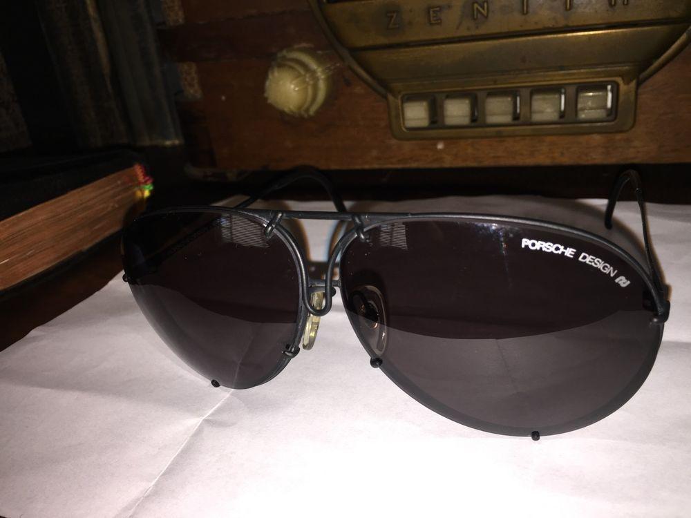 ac79a55dd77 Vintage Carrera Porsche Design 5621 Sunglasses Made In Austria Black Frame