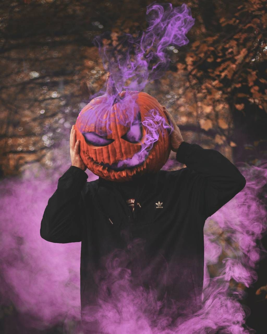 Download Pumpkin Purple Wallpaper By Tayurakk 32 Free On Zedge Now Browse Millions Of Popular P Pumpkin Wallpaper Halloween Wallpaper Pumpkin Photography