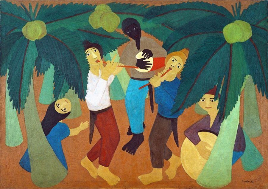 Pintura Brasileira Arte Naif Museu Nacional Belas Artes