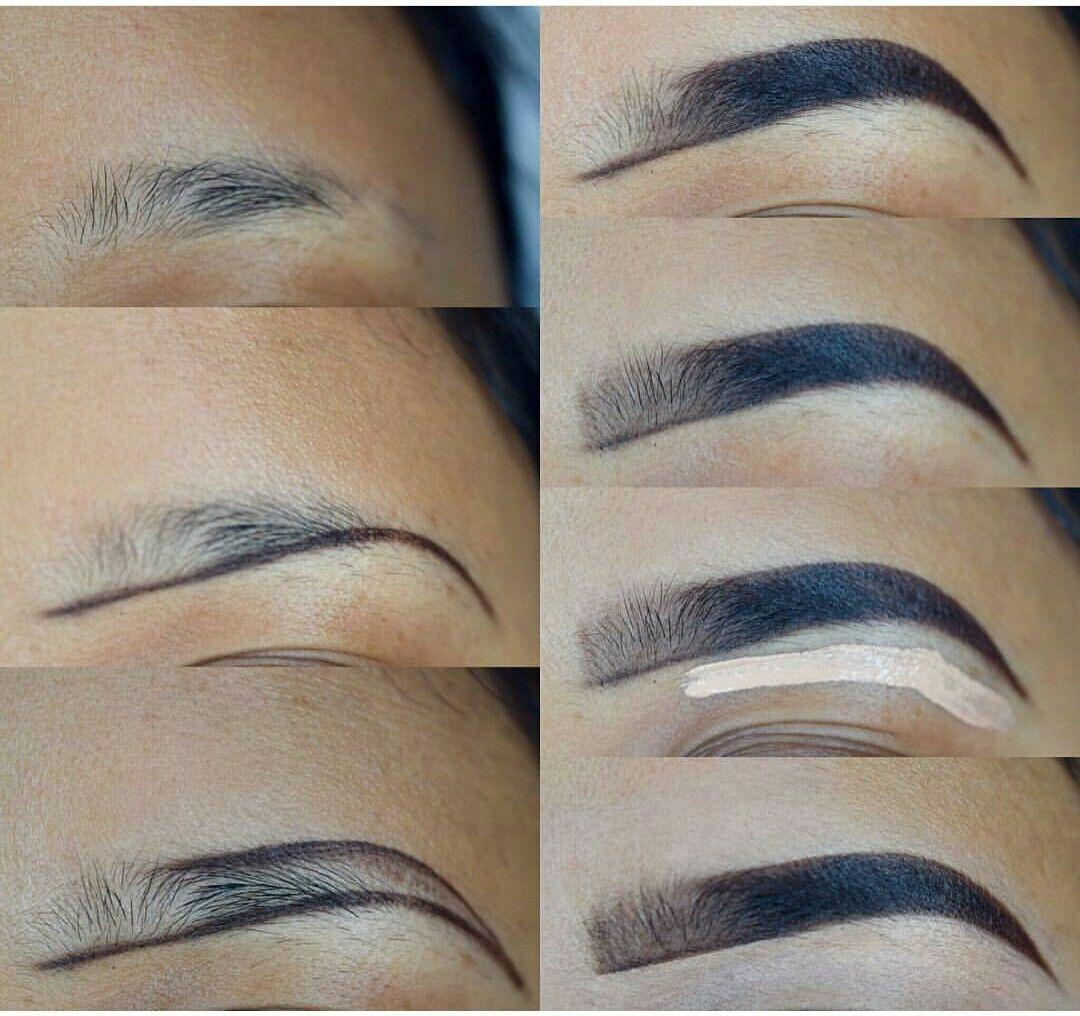 Eyebrow Tutorial | Eyebrow makeup, Eyebrow makeup tips, Makeup