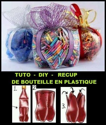 bouteille r cup plastique tuto diy r cup pinterest tags et bricolage. Black Bedroom Furniture Sets. Home Design Ideas