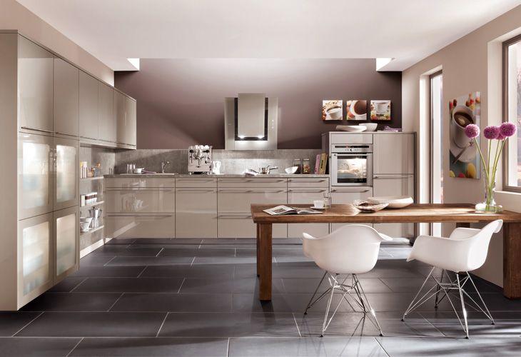 Küche in Grau #Wohnküche www.dyk360-kuechen.de | Küche | Pinterest ...
