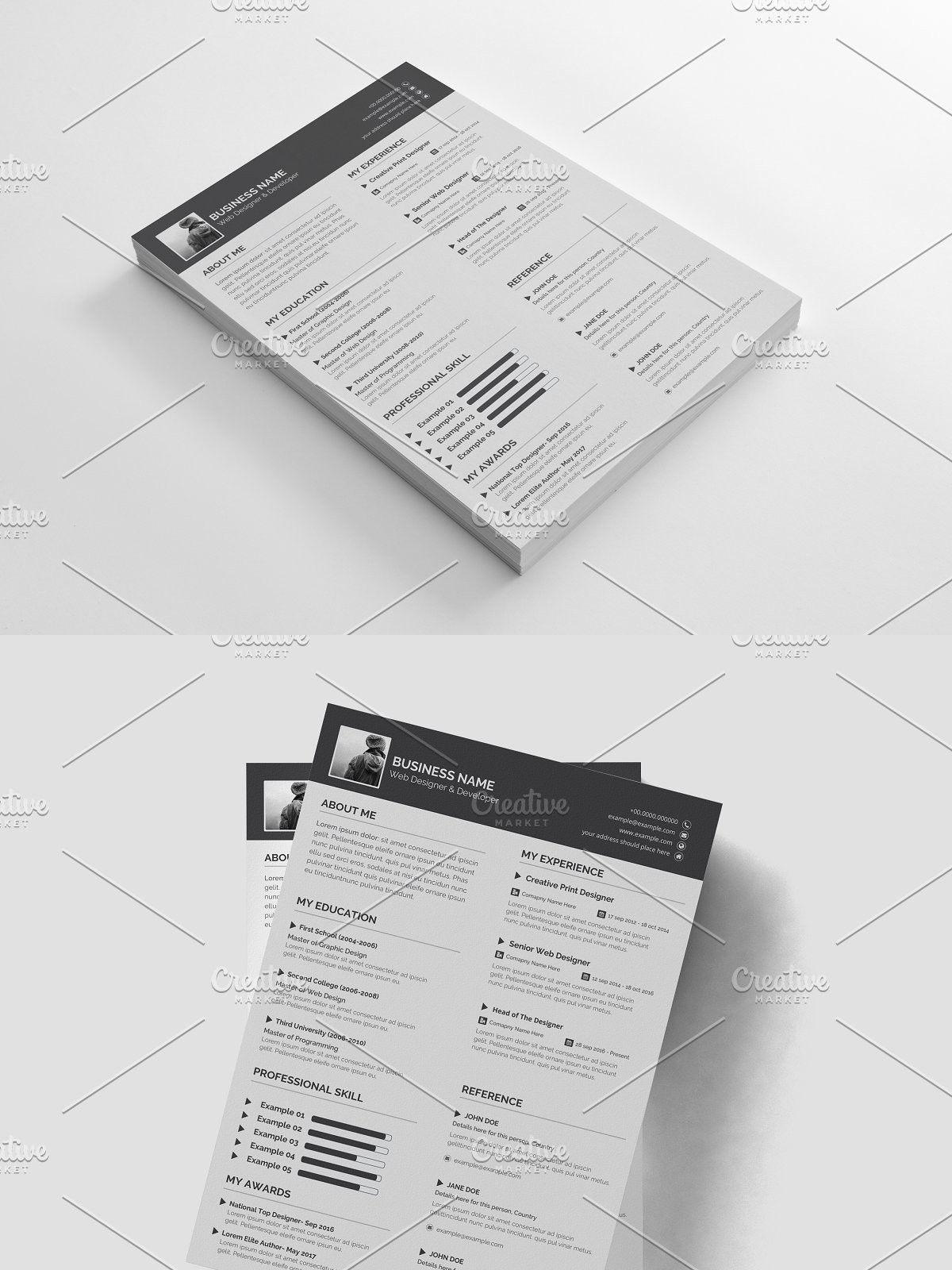 The Resume Resume design, Resume, Job resume