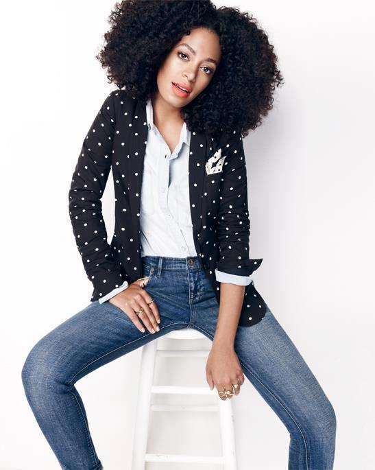 Jeans + dots