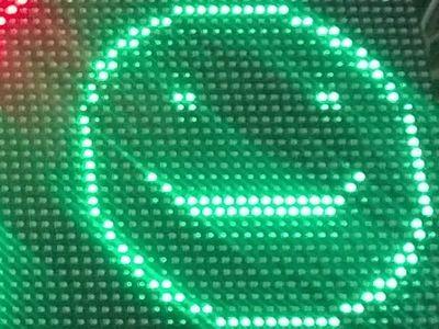 128x32 pixel LED Matrix with Raspbberry Pi 3 and Windows IOT Core