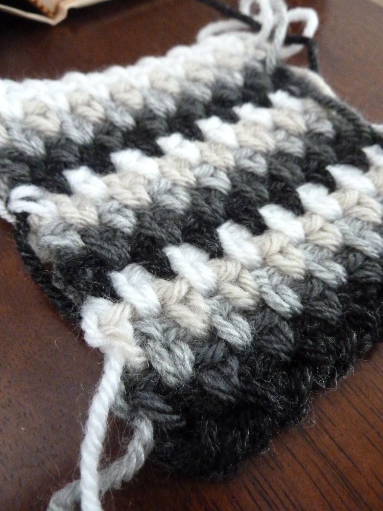 Stitch Of The Week Striped Woven Stitch Crochet Faves Pinterest