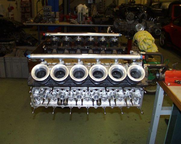 Formula 1, Subaru 12-cylinder 180-degree V12 engine.