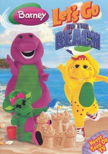 Barney Let S Go To The Beach Dvd 2006 Best Buy Barney Business For Kids Barney Christmas