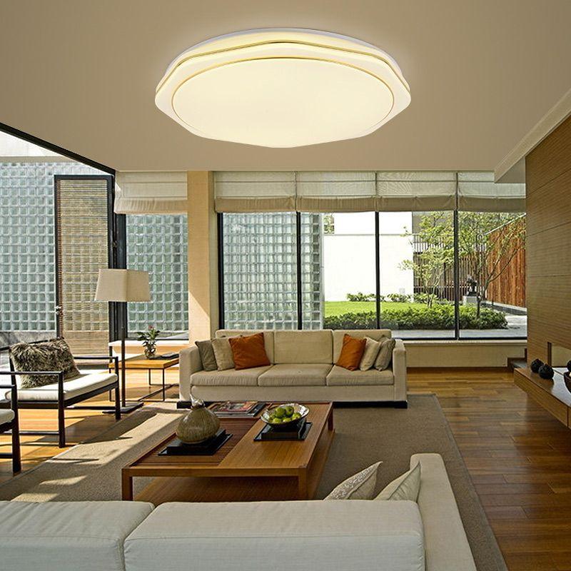 LED Deckenleuchte Modern aus Acryl im Wohnzimmer in 2019 ...