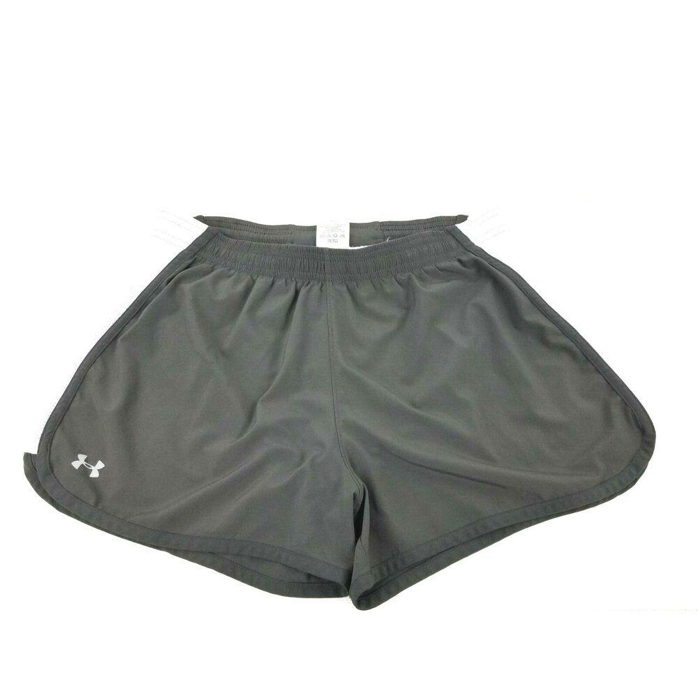 b2a4d9b83f Under Armour Heatgear Women Running Shorts Built in Underwear Medium ...