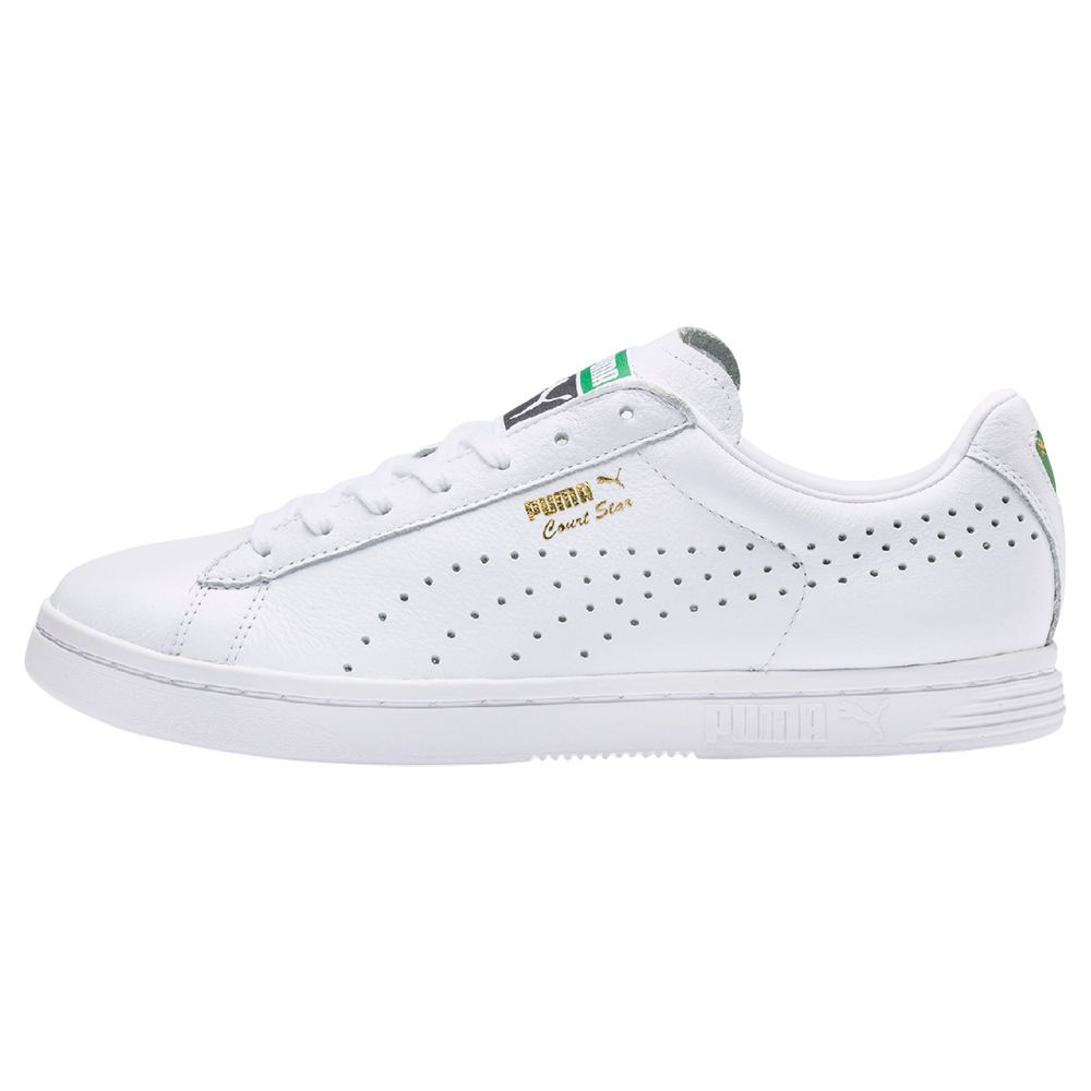 PUMA Court Star Men's Trainers, White | Sneakers, Mens ...