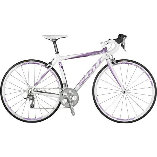 d0ce6fff8be 2012 Scott Contessa Speedster 25 Women's Road Bike White/Purple Need in 50CM