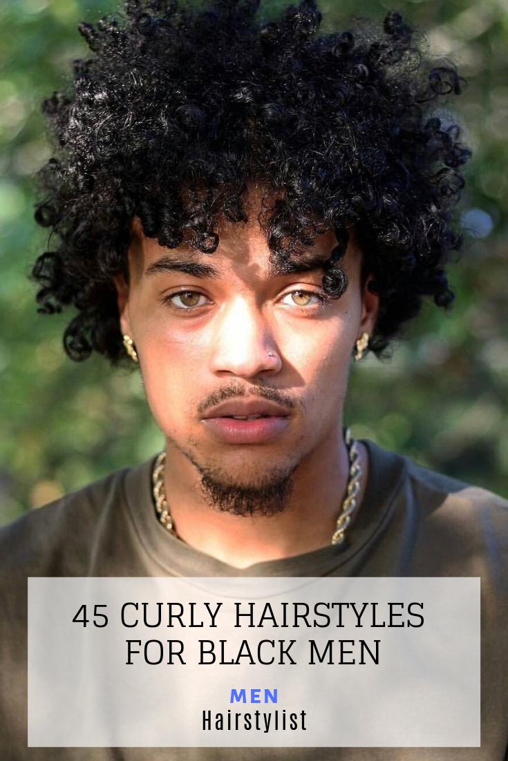 Pin em Curly Medium Length Hairstyles for Men