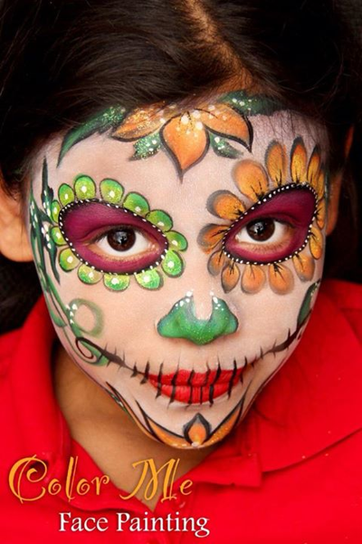 Day of the Dead/Sugar Skull makeup #dayofthedead #sugarskulls #diadelosmuertos #sugarskullmakeup