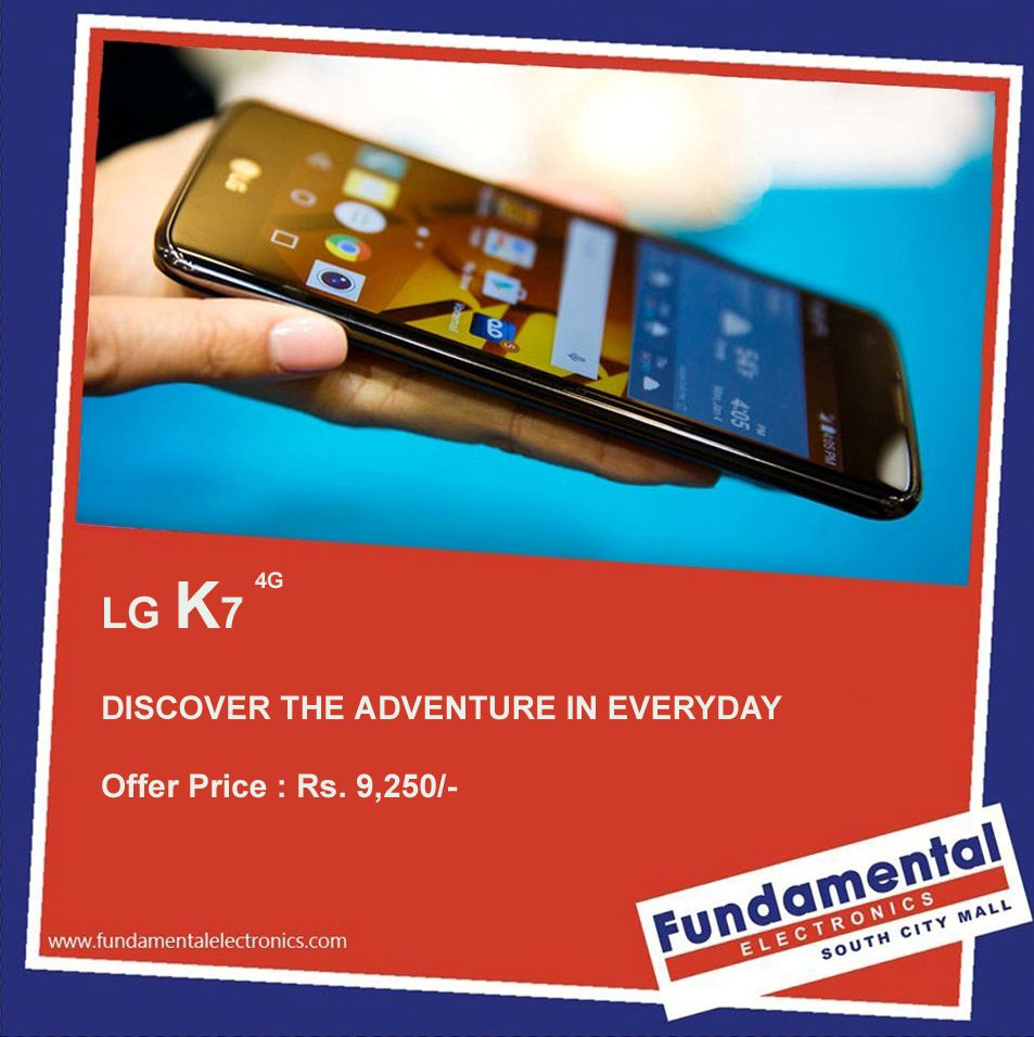 LG K7 4G Smart phones: The Phones makes you smart....