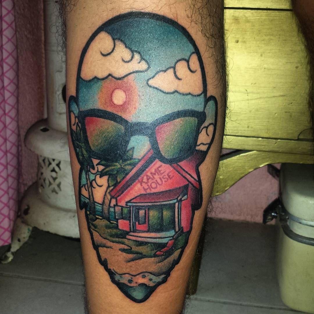 "92 Me gusta, 6 comentarios - Luis Arjon (@arjonluis) en Instagram: ""Dice mi jefita que porque no me raye el culo #tattoo #tatuaje  #ink #inkstagram  #inked #dragonball…"""