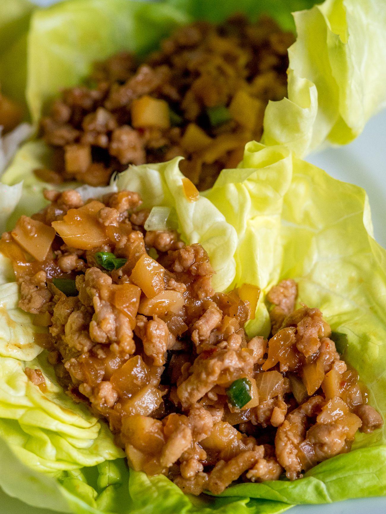 copycat pf chang's lettuce wraps vertical 3  lettuce