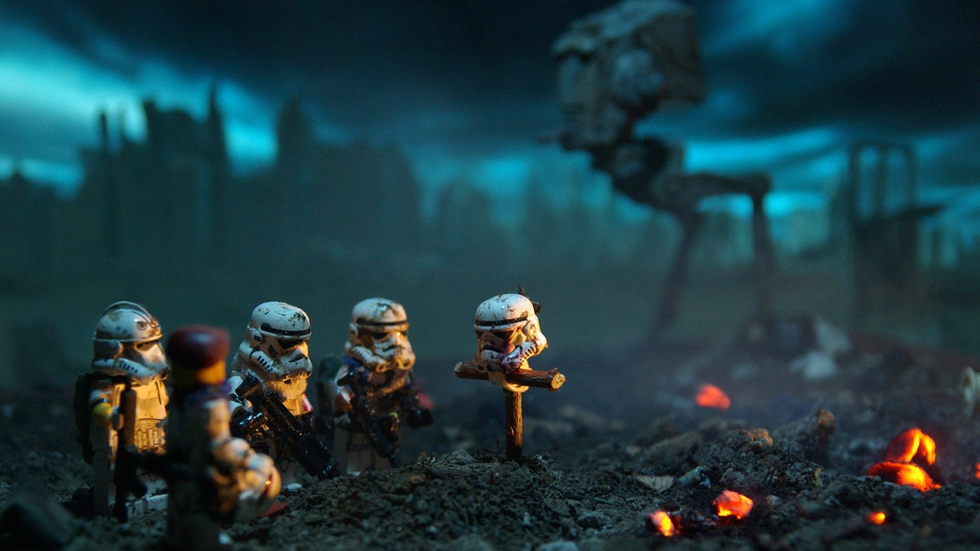 1920x1080 Widescreen Wallpaper Star Wars Star Wars Illustration Star Wars Wallpaper Lego Stormtrooper