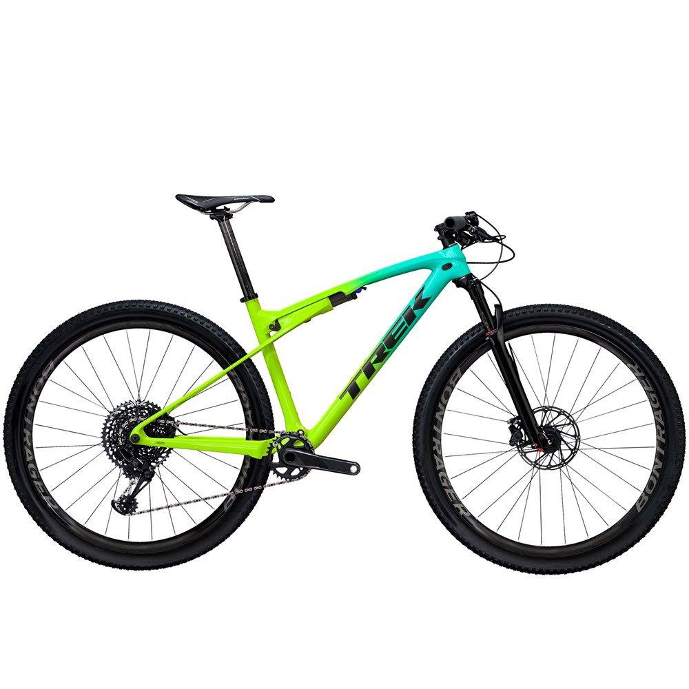 2020 Trek Supercaliber 9 7 Nx Carbon Fs Mountain Bike In Green