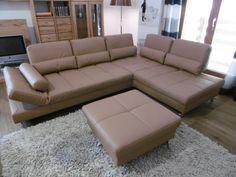 Joop Sofa Loft In Leder Eckgarnitur Wohnzimmer Hocker Joop
