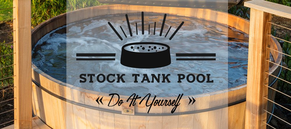 Diy stock tank pool galvanized stock tank pool diy