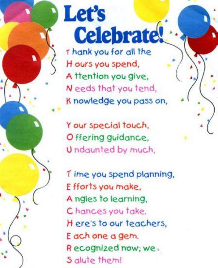 Humorous Retirement Poems   best teacher poem - graduation poem ...